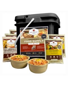 Wise Food Supply Breakfast & Entree Kit 56 Serving Black Bucket