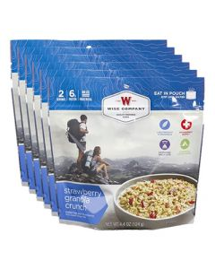 Wise Food Supply Strawberry Granola Crunch Case Of 6
