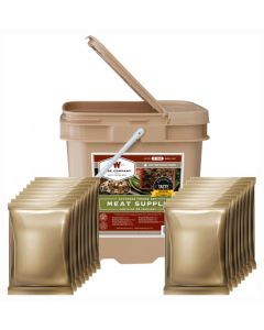 Wise Food Supply Freeze Dried Meat 60 Serving Bucket