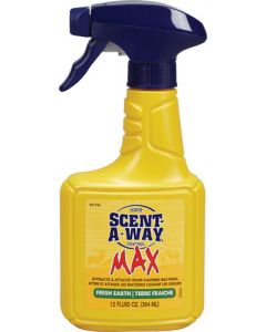 Hunters Specialties Scent Elimination Spray Scent-a-way Max Earth 12fl Oz