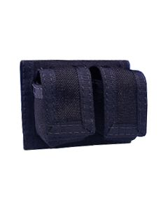 HKS Double Speedloader Pouch Nylon Black Fits All Loaders
