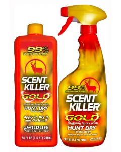 Wildlife Research Killer Gold Scent Elimination Spray Combo 2-24Oz