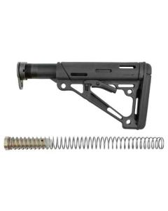 Hogue AR-15 Collapsible Stock Black Mil-Spec W/Buffer Tube