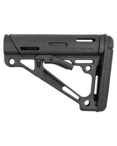 Hogue AR-15 Collapsible Stock Black Rubber Commercial