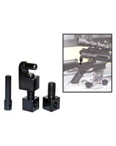 Wheeler Engineering AR-15 Receiver Link Holds AR-15 Open For Cleaning