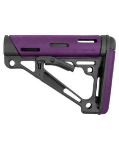 Hogue AR-15 Collapsible Stock Purple Rubber Mil-Spec