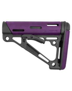 Hogue AR-15 Collapsible Stock Purple Rubber Commercial