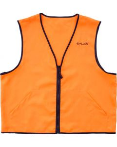 Allen Deluxe Hunting Vest Orange 2xl 2 Front Pockets