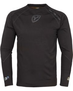 Scent Blocker 1.5 Base Layer Shirt W/Trinity S3 Black Large