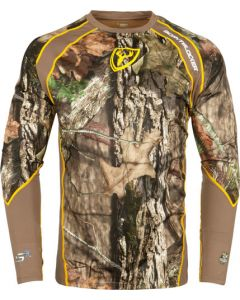 Scent Blocker 1.5 Base Layer Shirt W/Trinity S3 Rt-Edge Lrg