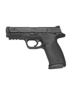 "Smith & Wesson M&P40 .40SW 4.25"" FS 15-Sh W/Safety Blackened Ss/Blk Pol"