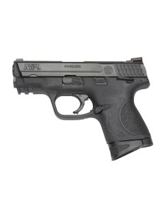 "Smith & Wesson M&P9C Compact 9MM 3.5"" FS 12-Sh W/Safety Blk Ss/Blk Pol"
