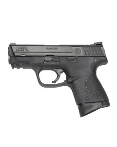 "Smith & Wesson M&P9C Compact 9MM 3.5"" FS 12-Shot Blackened Ss/Blk Poly"