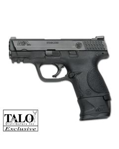 "Smith & Wesson M&P40C .40SW 3.5"" 15-Shot FS W/X-Grip Mag Blk Ss (Talo)"