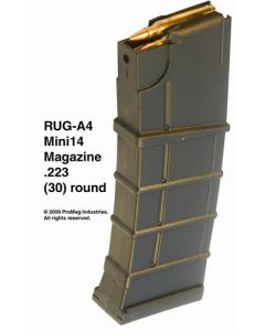 ProMag Mag Magazine Ruger Mini-14 .223 30-Rounds Black Polymer