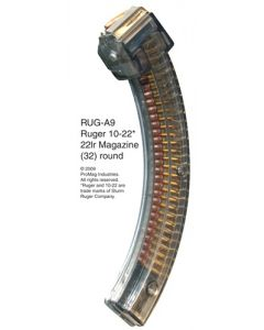 ProMag Mag Magazine Ruger 10/22 .22LR 32-Rounds Smoke Polymer