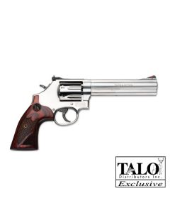 "Smith & Wesson 686 Deluxe .357 6"" AS 7-Sh Ss Checkered Wood (Talo)"