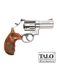"Smith & Wesson 686 Deluxe .357 3"" AS 7-Sh Round Butt Wood Grips (Talo)"