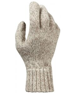 Hot Shot Basics Glove Rag Wool Oatmeal One Size