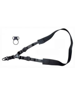 Max-Ops Tactical Sling Single Point W/Adapter Black