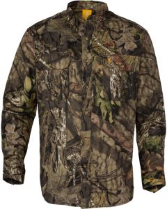 Browning Wasatch-cb Shirt L-sleeve Mo-breakup Country Camo Medium