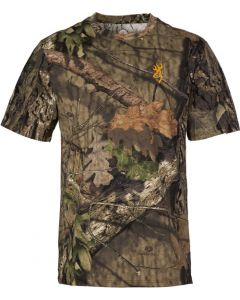 Browning Wasatch-cb T-shirt Mo-breakup Country Camo Medium