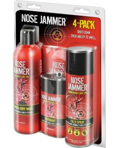 Nose Jammer 4 Pack Combo Kit Necessities