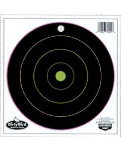 "Birchwood Casey Target Dirty Bird 12""Multi -Color Bull's-Eye 10 Targets"