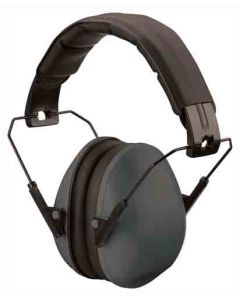 Champion Slim Ear Muffs Passive 21Db Black