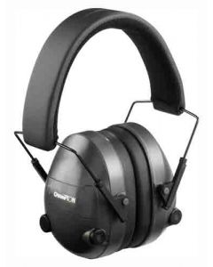 Champion Electronic Ear Muffs 25Db Black