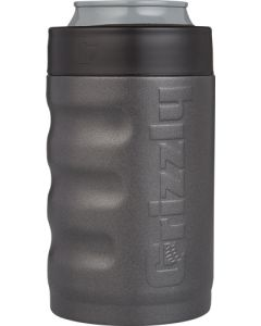 Grizzly Coolers Grizzly Grip Can Koozie 12oz Charcoal