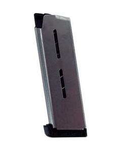 Wilson Combat Magazine Officer .45ACP 7-Rounds W/Std. Pad Stainless
