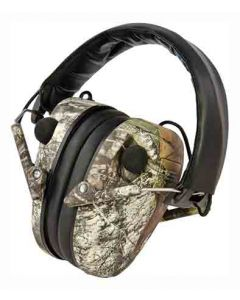 Caldwell E-Max Ear Muff Low- Profile Electronic Mobu Camo