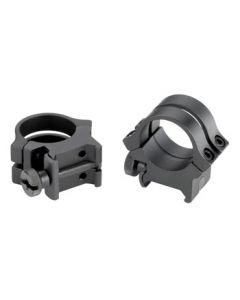 "Weaver Rings Quad-Lock 1"" High Black Matte"