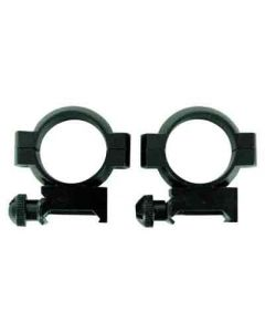 "Simmons Rings 1"" Medium Black Matte"