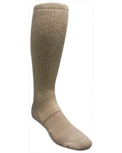 Covert Threads Sand Military/ Hunting Wool Sock Sand Lrg 1Pr