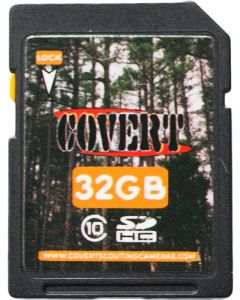 Covert Camera 32gb Sd Memory Card Class 10 High Speed