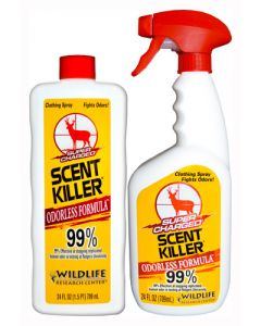Wildlife Research Killer Super Charged Scent Elimination Combo 2-24Oz