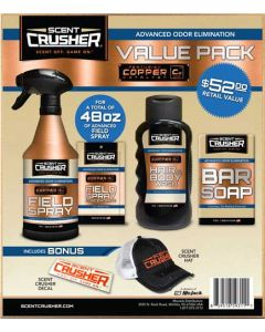Scentcrusher Field Spray Value Pack W/Free Hat & Decal