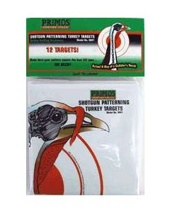 Primos Shotgun Pattering Turkey Target 12-Pack