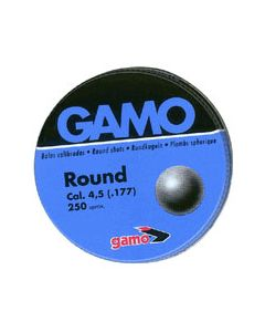 Gamo .177 Lead Roundball Bb's 19 Grains 250Pk Tin