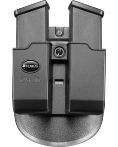 Fobus Mag Pouch Double For Glock 45/10mm Paddle Style