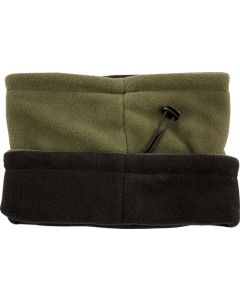 Red Rock Fleece Neck Gaiter Olive Drab Reverses To Black