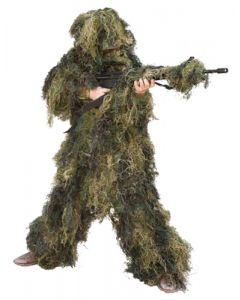 Red Rock Outdoor Gear 5 Piece Ghillie Suit Woodland Youth Large
