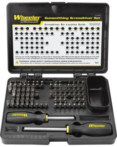 Wheeler Engineering Screwdriver Kit 72-pc Professional Gunsmithing