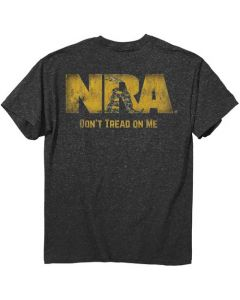 "Buck Wear T-Shirt Nra ""don'T Tread"" S-Sleeve Heather Large"