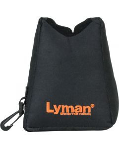 Lyman Crosshair Front Shooting Bag Filled Black Nylon