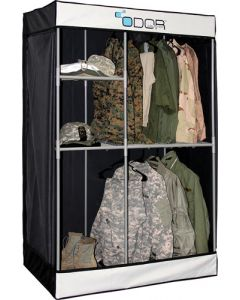 Odor Crusher Tactical Ozone Deluxe Flex Closet Black