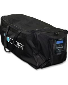 Odor Crusher Tactical Roller Gear Bag W/ Ozone Generator