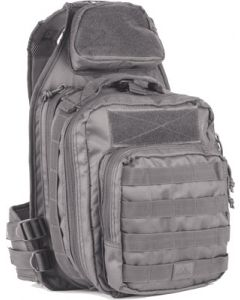 Red Rock Recon Sling Bag Gray Tear Away Feature Main Compart